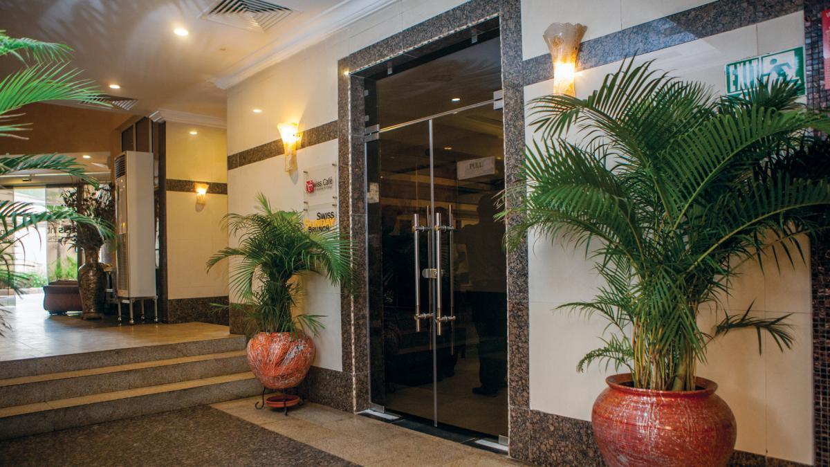 Restarant Entrance